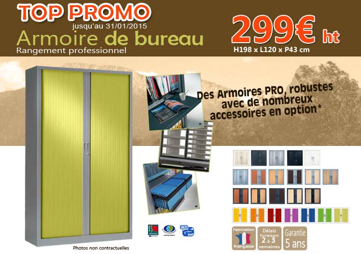 technic bureau promotion armoire bureau jusqu 39 au 31 janvier 2015. Black Bedroom Furniture Sets. Home Design Ideas